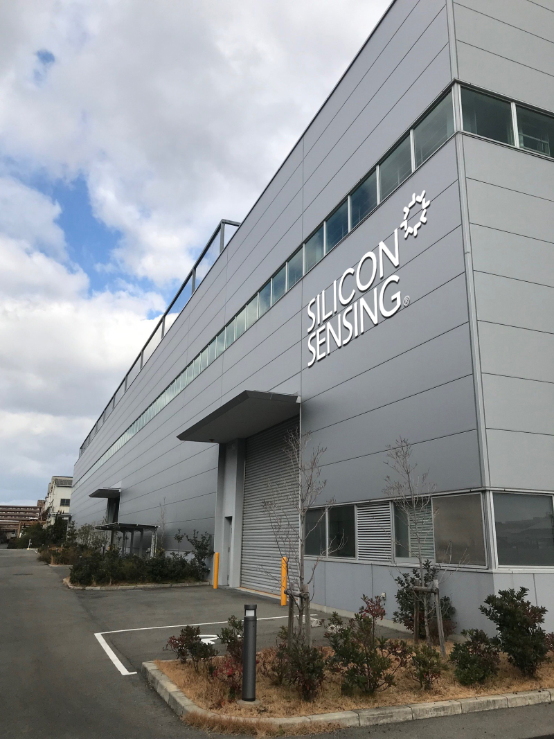 190603 Silicon Sensing New Foundry Building 2 hi res